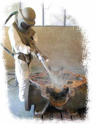 Sandblasting Dallas, Garland, Rowlett and Rockwall, TX
